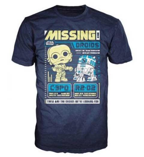 Missing Droids! Fun Star Wars T-Shirt