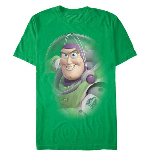 Green Buzz Lightyear from Toy Story