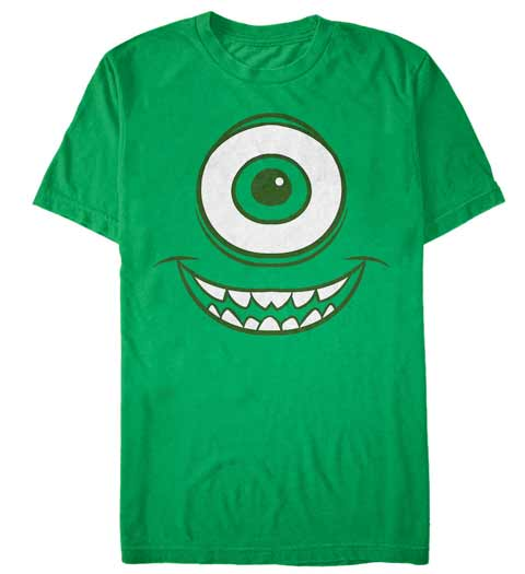 Mike's Green Eye! Monsters Inc Shirt