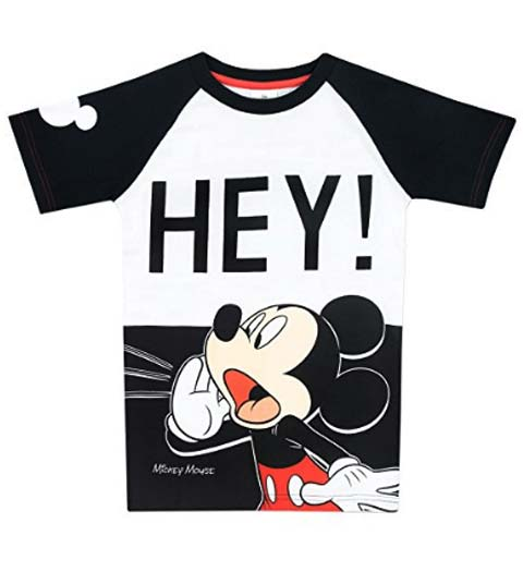 Cute! Mickey Mouse Shirt for Kids