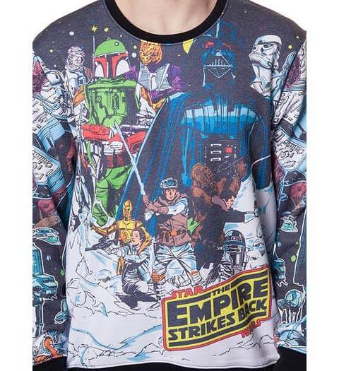 Vintage Hoth -- Star Wars Sweater