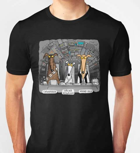 Hounds Flying! Star Wars T-Shirt