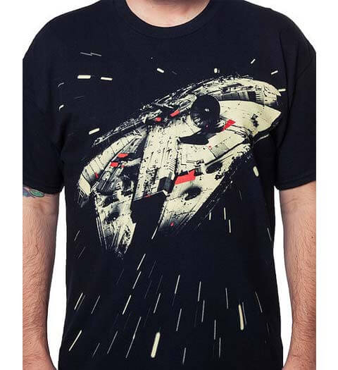 Hyperdrive Millennium Falcon Star Wars Shirts