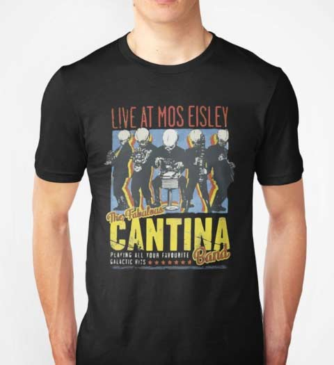 Live at Mos Eisley Cantina! Star Wars T-Shirt