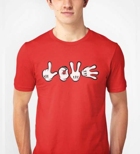 Love! Mickey Mouse Shirt
