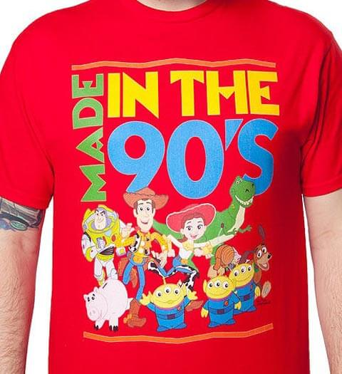 Made in the 90's! Toy Story Shirt