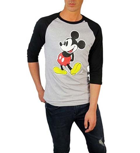 Mickey Mouse: Raglan Tshirt Design