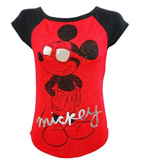 Mickey Mouse Shirt for Ladies