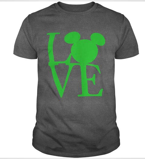 Mickey Mouse Love Shirt