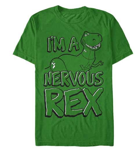 I'm a Nervous Rex, Toy Story Tshirt