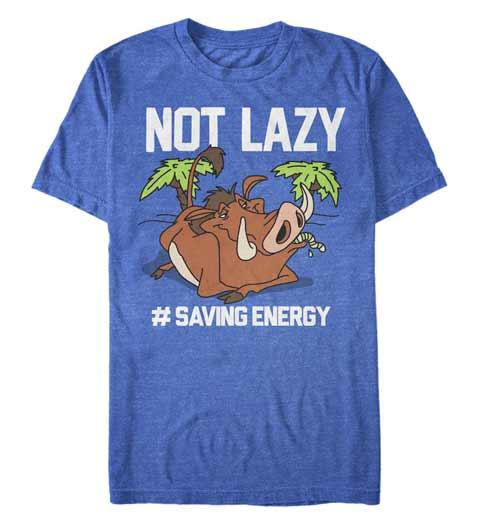 I'm Not Lazy! Lion King Shirt