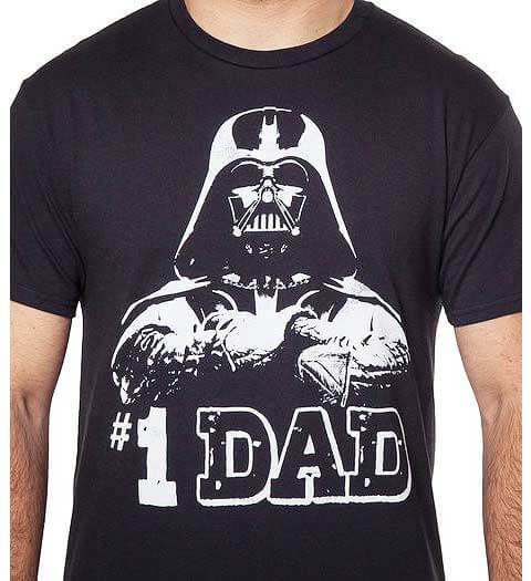 #1 Dad Star Wars Shirts