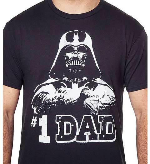 #1 Dad Star Wars Shirts