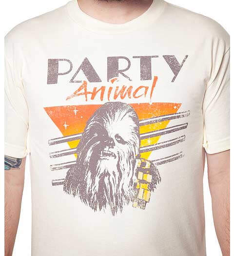 Chewbacca Party Animal! Star Wars Shirt
