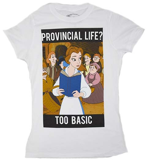 Provincial Life: Beauty and the Beast Tshirt