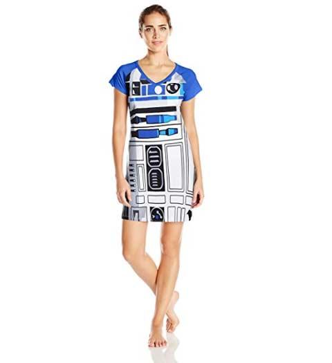 R2D2 Nightshirt for Ladies