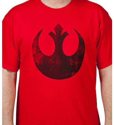 Red Rebel Logo: Star Wars Shirts