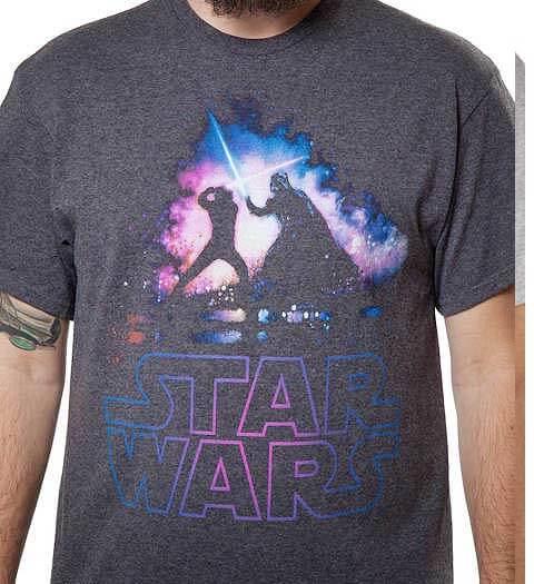Lightsaber Duel! Star Wars shirts