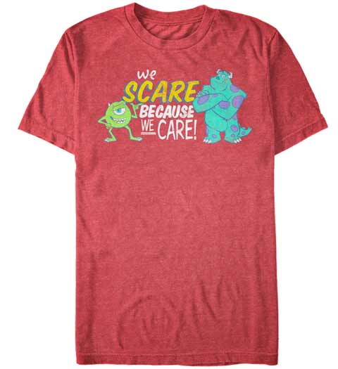 Scare Care! Monsters Inc Shirt