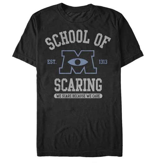 School of Scaring! Monsters Inc Shirt