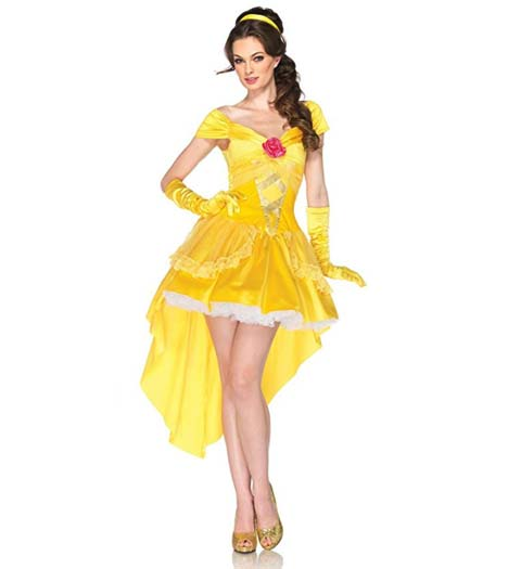 Sexy Belle Dress: Beauty and the Beast Dress