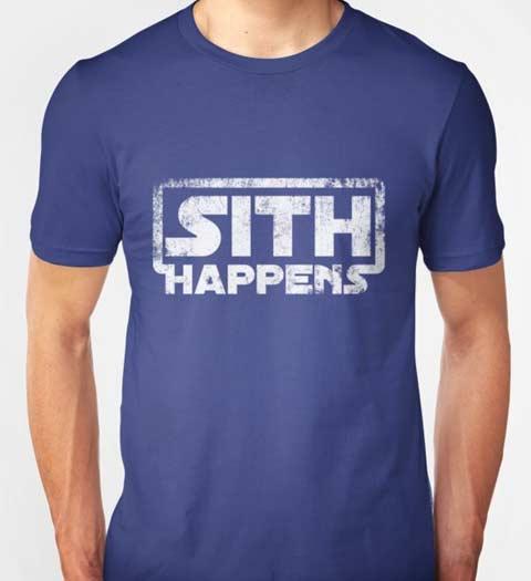 Sith Happens: Star Wars Shirt