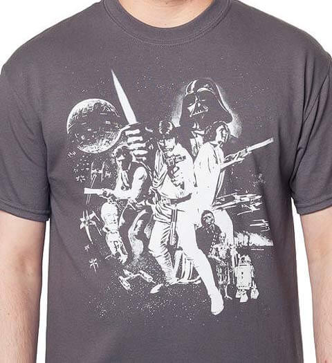 It's a Classic! Star Wars Shirt Episode IV