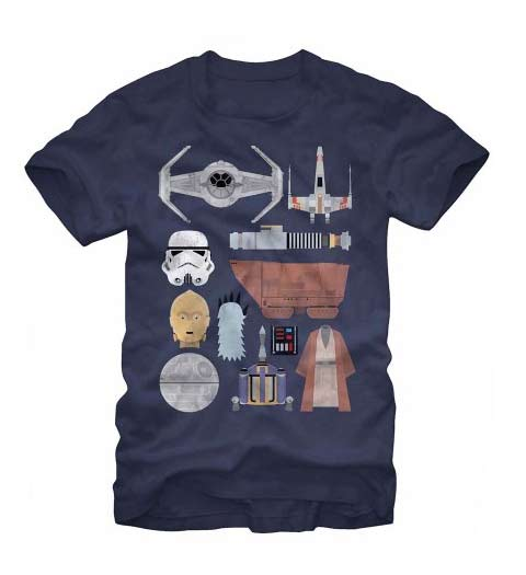 The Essentials! Funny Star Wars T-Shirt