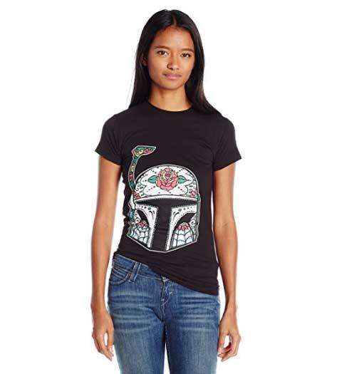 Boba Fett Floral: Star Wars Tee