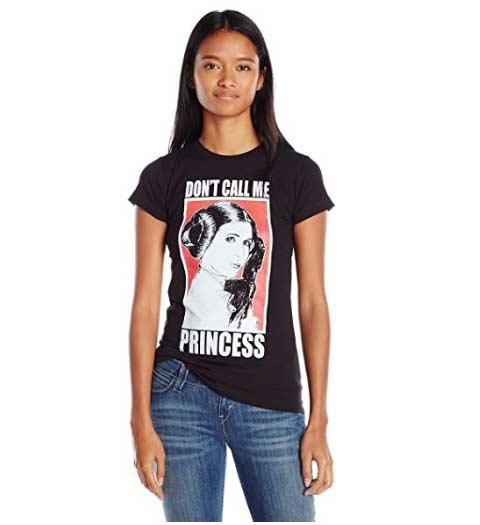 Don't Call Me Princess: Star Wars Shirt