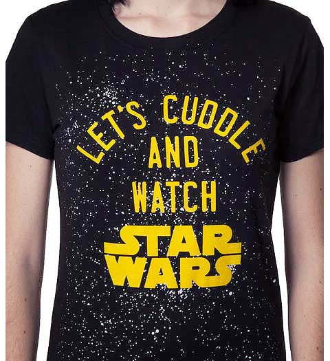 Let's Cuddle and Watch Star Wars -- Women