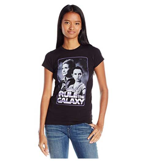Girls Rules the Galaxy -- Star Wars Shirts for Women