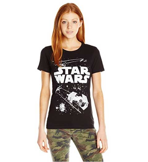 Cute Star Wars Shirts for Ladies
