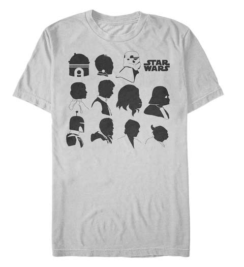 Silhouettes: Star Wars T-Shirt