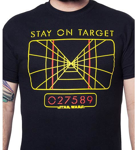 Stay on Target Star Wars Shirt