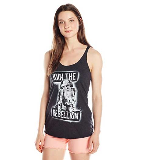 Join the Rebellion: Star Wars Tank Tops
