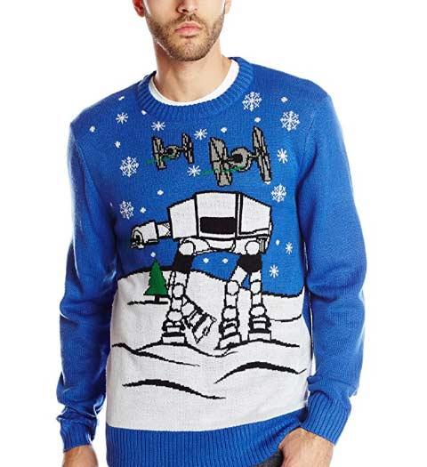 AT AT Star Wars Ugly Christmas Sweater