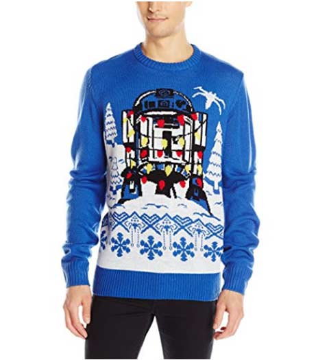 R2D2 Star Wars Ugly Christmas Sweater
