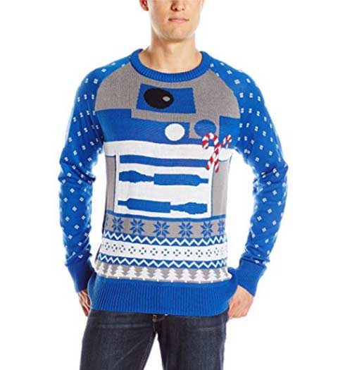 R2 D2 Ugly Christmas Sweater. Awesome.