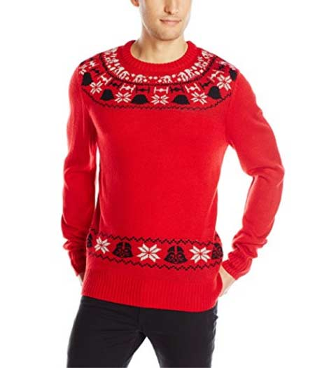Red Star Wars Ugly Xmas Sweater