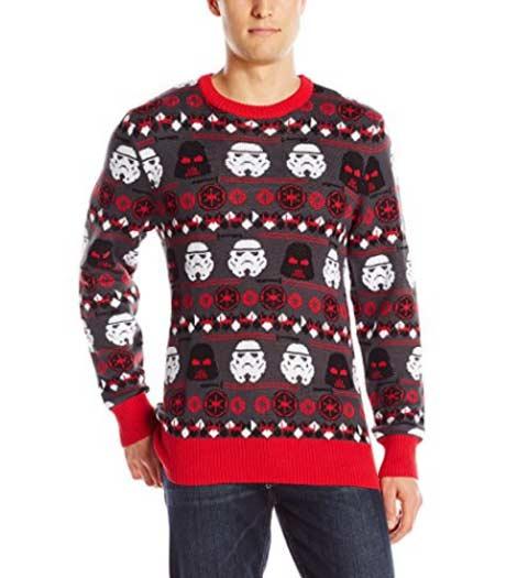 Dark Side! Star Wars Ugly Christmas Sweater