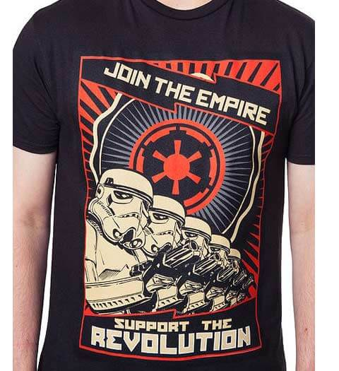 Support the Revolution! Star Wars Shirts 2017
