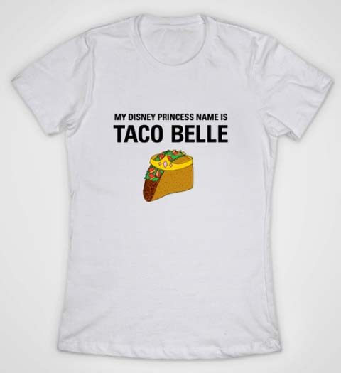 Taco Belle: Funny Beauty and the Beast Shirt
