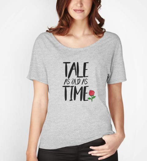 Tale as Old as Time: Beauty and the Beast Shirt