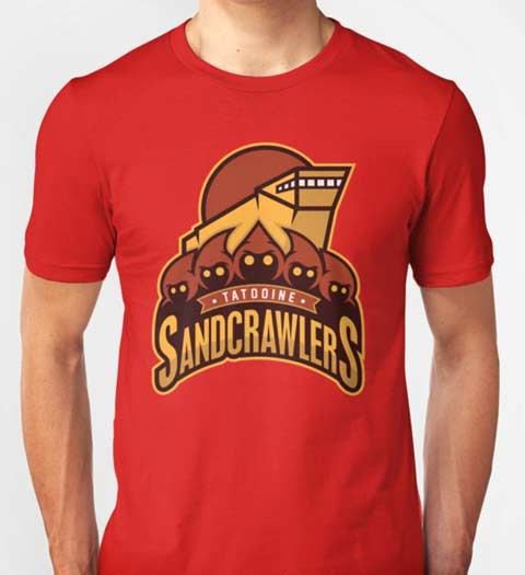Tatooine Sandcrawlers! Funny Star Wars T-Shirt