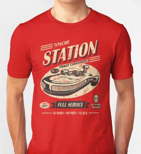 Tosche Station: Star Wars Shirt
