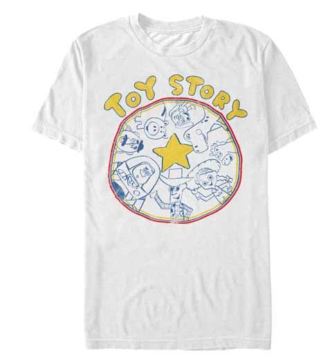 Toy Story Cartoony Shirt