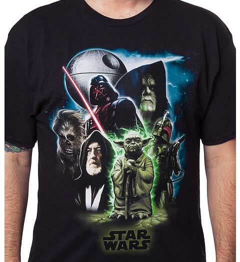 Universe of Star Wars Shirt
