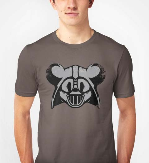 Vader Mouse! Mickey Mouse Shirt