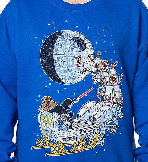 Darth Vader Ugly Christmas Sweater